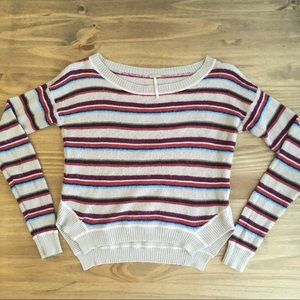 Free People Beach 🌅 Striped Sweater Size XS